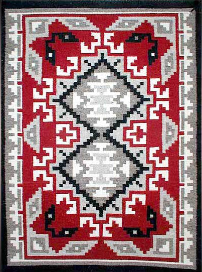 Navajo Rug Weaving By Sadie Begay Klagetoh