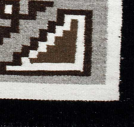 Navajo Rug Weaving By Rose Chico Two Grey Hills