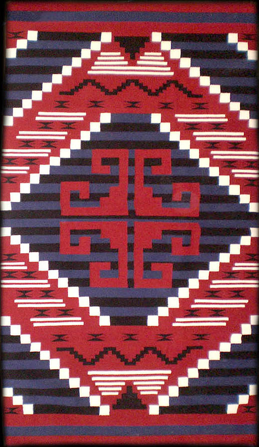 Navajo Rug Weaving By Susie Begay Second Phase Chief